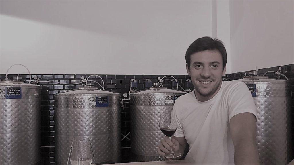 Benjamin Sibilat, co-fondateur du Chai Parisien